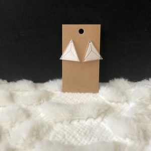 Delta Geometric Earrings