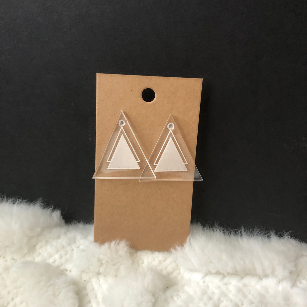 Solid Triangles Earrings