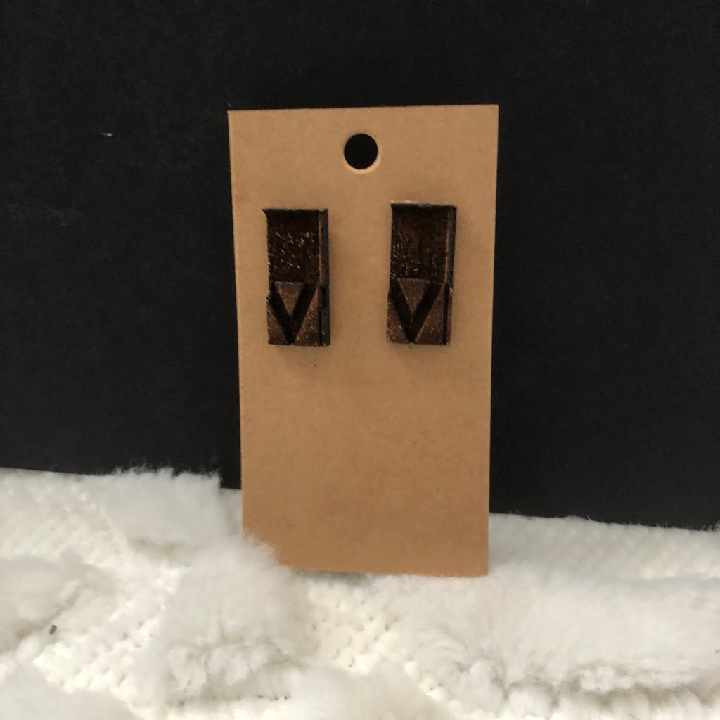 Arrow Wooden Earrings