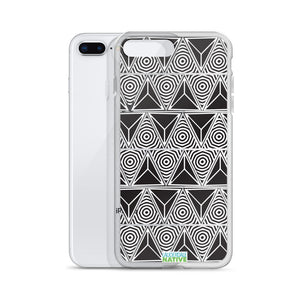 Triangular Trance iPhone Case