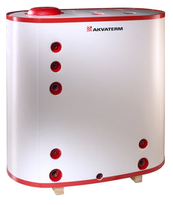 Akvaterm 1400 Oval Accumulator Tank - Denergy Spare Parts