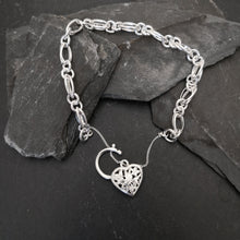 Load image into Gallery viewer, Fancy Link Charm Bracelet