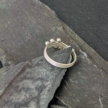 Load image into Gallery viewer, Handmade Silver Ring back