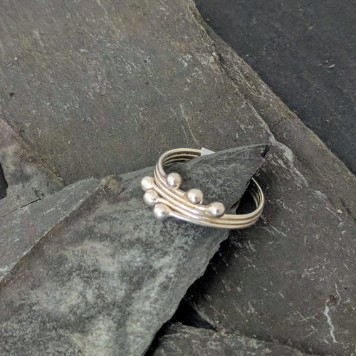 Handmade Silver Ring front