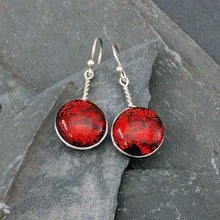 Load image into Gallery viewer, Dichroic Glass Earrings