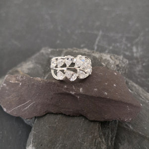 Multi CZ Ring Front