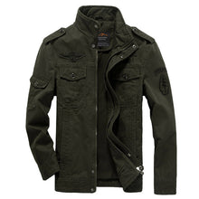 Load image into Gallery viewer, Men's Military Jacket Cargo
