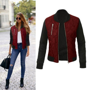 Women's Jacket Zipper Coat 3 Different Color