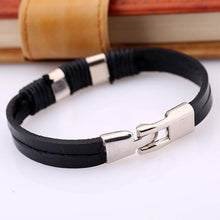 Load image into Gallery viewer, Leather Bracelets Cowhide Wrist Chains
