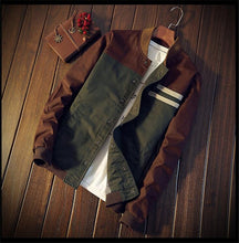 Load image into Gallery viewer, Men's New Classic Brown/Green Jacket