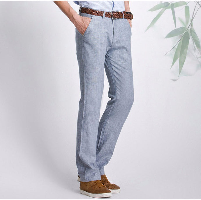 Men's Linen Casual Pants 4 Different Colors