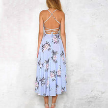 Load image into Gallery viewer, Women's Long Floral Printed Dress