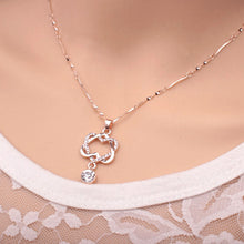 Load image into Gallery viewer, Elegant Heart Rose Gold Pendant