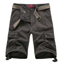 Load image into Gallery viewer, Men's Cotton Short Military Fashion Pockets