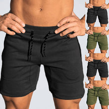 Load image into Gallery viewer, Men's Elastic Waist Short Fitness