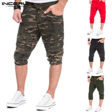 Load image into Gallery viewer, Men's Elastic Waist Shorts Multi Colors