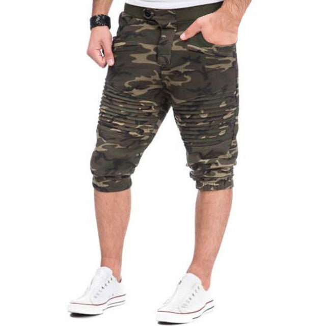 Men's Elastic Waist Shorts Multi Colors