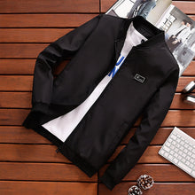 Load image into Gallery viewer, Men's Stand Collar Windbreaker Jacket