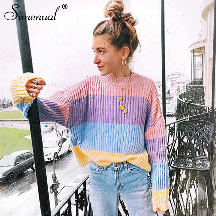 Women's Cute Oversized Sweater Colors
