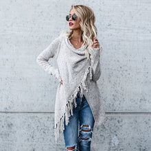 Load image into Gallery viewer, Women's Cardigan Irregular Loose Style Cloak Pullovers Poncho