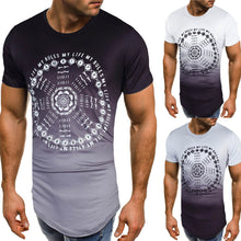 Load image into Gallery viewer, Men's Slim Fit O Neck Short Sleeve T-shirt