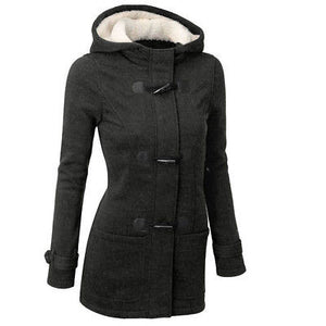 Women's Warm Hooded Long Parka Coat