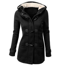 Load image into Gallery viewer, Women's Warm Hooded Long Parka Coat