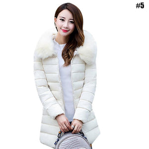 Women's Long Slim Cotton padded Jacket