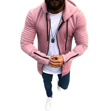 Load image into Gallery viewer, Men's Jacket Slim Fit Pullovers Outwear Hoodies