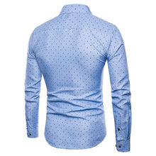 Load image into Gallery viewer, Men's Long Sleeve Oxford Formal Casual Slim Fit Shirt