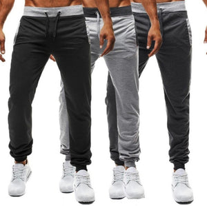 Men's Sport Elastic Stretchy Long Sweatpants
