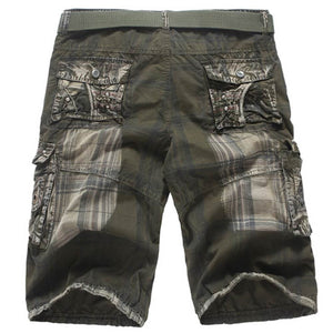 Men's Casual Pocket Beach Work Casual Short