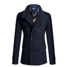 Load image into Gallery viewer, Men's Woolen Casual Slim Fit Social Business Suits Coat