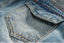 Load image into Gallery viewer, Men's Warm Thick Jeans Jackets