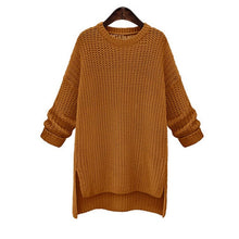 Load image into Gallery viewer, Women's Open-fork Long Sweater