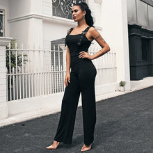 Load image into Gallery viewer, Women's Glamaker Black High Waist Jumpsuit