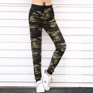 Women's Sweatpants Camouflage