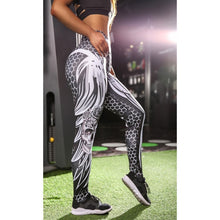 Load image into Gallery viewer, Women's 2018 New Fashion Honeycomb Skull Sport Legging