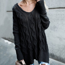 Load image into Gallery viewer, Women's Oversized Long Comfortable Sweater