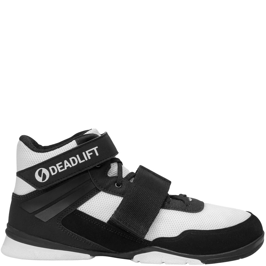 SABO Deadlift PRO Shoes - White/Black
