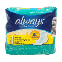 Always Ultra Thin  Pads 10