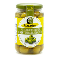 Macarico Pitted Green Olives 250 ml