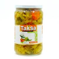 Taksa Sliced mixed pickle 660 g