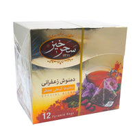 Sahar Khiz Saffron Infusion (12 PCS - Tea Bag)