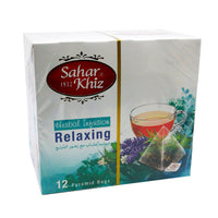 Sahar Khiz Relaxing Herbal Tea (12 PCS - Tea Bag)