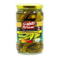 haft setareh Pickled Cucumbers 680 g