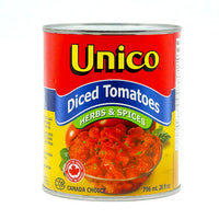Unico Diced Tomato Herbs & Spices 796 ml