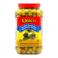 Unico Stuffed Manzanilla Olives 2 L