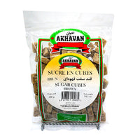 Akhavan Brown Sugar Cubs 400 g