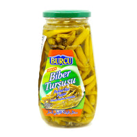 Burcu Hot pepper pickled 580 g